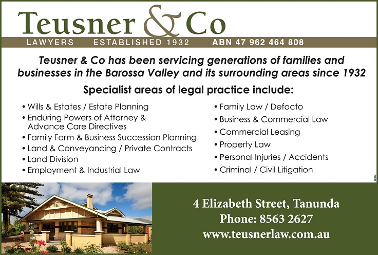 banner image for Teusner & Co
