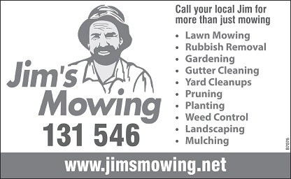 banner image for Jims Mowing